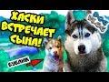 DOGVLOG ХАСКИ ВСТРЕЧАЕТ СЫНА Поход в собачий приют Говорящая собака mp3