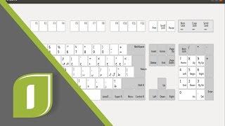 الحروف وحركات الشكل على Ubuntu