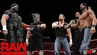 WWE 2K17 Custom Story - Triple H Calls Out