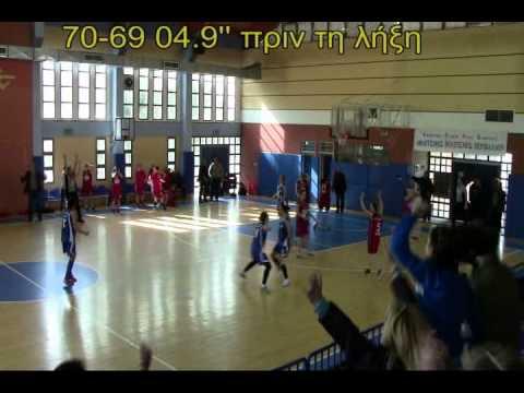 ΑΕΝΚ - ΑΟ Τερψιθέα Γλυφάδας 70-72 (Α2 Νότου Γυναικών 2013-14 - 15η αγωνιστική)