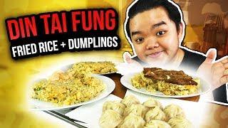 DIN TAI FUNG FRIED RICE + DUMPLINGS by Din Tai Fung Malaysia | eatoko Eating Show