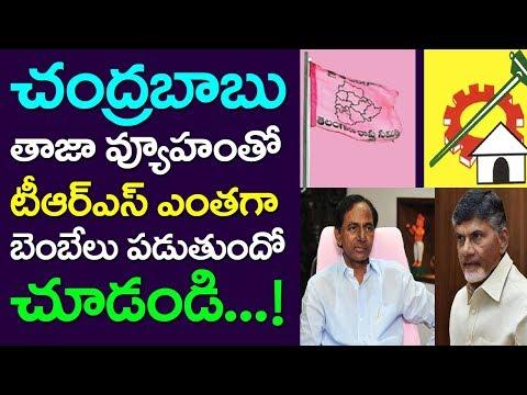 TRS Shaking Of CM Chandrababu Latest Strategy, Telangana Election, TDP