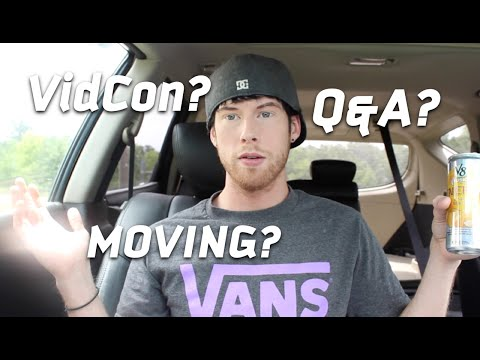 VidCon ~ Moving ~ Q&A