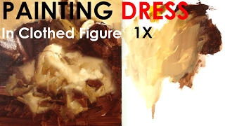 How To Paint Dress In Clothed Figure Painting 1