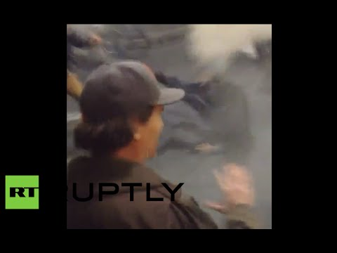 California clashes: Tear gas, rubber bullets at Berkeley anti-police brutality protest