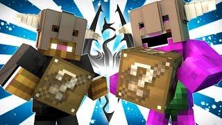 Minecraft | KING BARNEY! (SKYRIM LUCKY BLOCK MOD CHALLENGE)