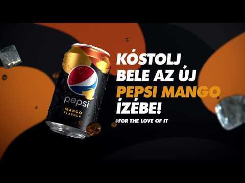 Kóstolj bele az új Pepsi Mango ízébe! #ForTheLoveOfIt