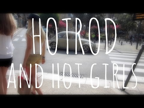 HOTROD AND HOT GIRLS IN SARLAT | FRANCE (Daily Travel Vlog 58)