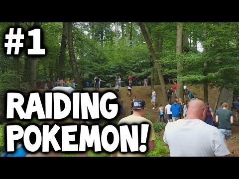 Pokemon GO ★ RARE POKEMON PEOPLE RAIDS #1 ★ Pinsir/Dragonair/Snorlax & Scyther
