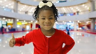Paisley Learns to Ice Skate! | Christmas Traditions | Behind the Braids Ep.20