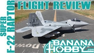 Super F-22 Raptor BlitzRCWorks | Flight Review | EDF Fighter Jet