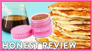 """Pancakes & Syrup"" Jeffree Star Cosmetics Lip Scrub Review"