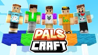 THE NEW PALS MINECRAFT SERIES! | PalsCraft #1