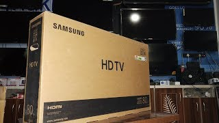 """Samsung 32"""" 4 Series 4003 HD LED TV    Unboxing an Review    by technical attachment"""