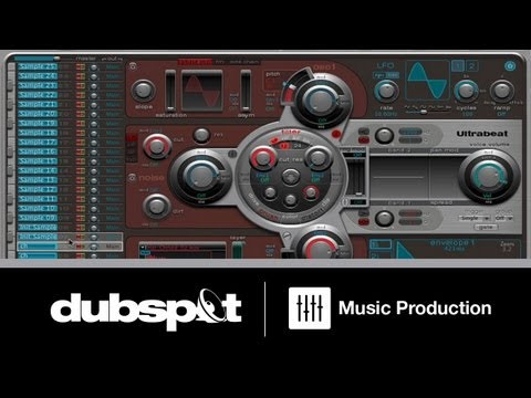 Logic Tutorial: Programming Trap Beat Patterns Using Ultrabeat + MIDI Controller (2 of 3)