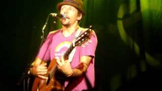 Jason Mraz - The Remedy, live Madrid 16/07/2009