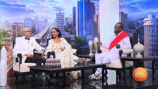 EBS Special New Year Show with Asfaw and Fryat - Interview With Netsanet Workneh