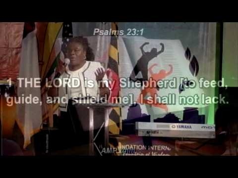 Women's Week Day 7 - The Satisfied Woman - Pastor Evelyn Ori