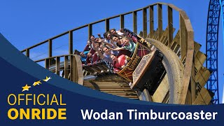POV - WODAN Timburcoaster Europa-Park - OFFICIAL ONRIDE shot on RED EPIC