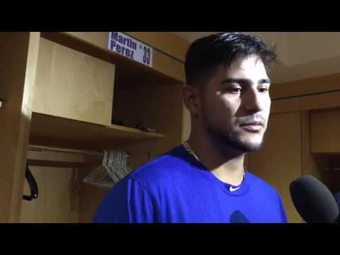 Rangers Martin Perez wasn't expecting Jefry Marte to swing on 3-0 pitch