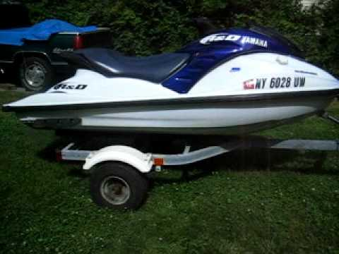 2001 Yamaha GP1200r Dry Start