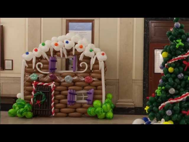 Eastman School of Music - Deck the hall with balloons