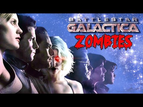 BATTLESTAR GALACTICA ZOMBIES!▐ CoD World at War Custom Zombies Map/Mod