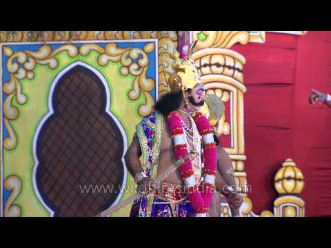 Lav Kush Ramlila - The traditional performance of Ramayan