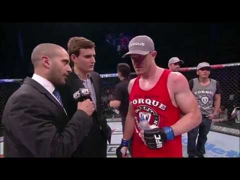 Fight Night Natal CB Dollaway Octagon Interview