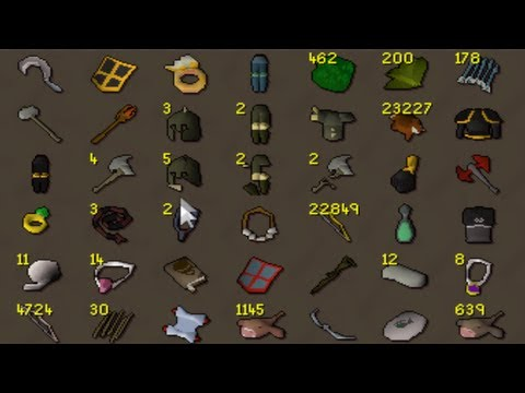 Runescape Sparc Mac's Bank Video in 07! 250M+