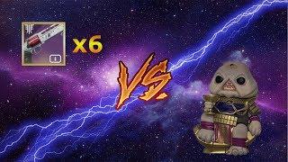 x6 Luna's Howl vs. Calus (4K)