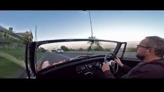MG Midget drive around north London