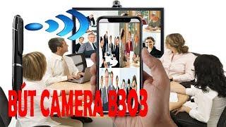 Camera Siêu Nhỏ|| Camera Ngụy Trang Bút Viết B303 Có WiFi Xem Từ Xa Qua Điện Thoại