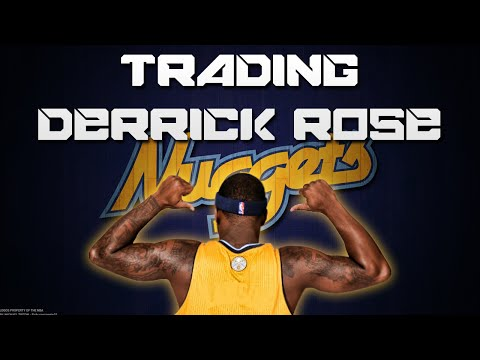 NBA 2K15 PS4 Denver Nuggets My GM Ep. 12 - BLOCKBUSTER TRADE OF DERRICK ROSE
