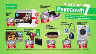 Svaki tjedan Pevecovih 7 - ponuda vrijedi od 24.12. do 30.12.2018.