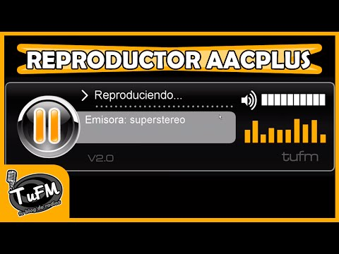 Reproductor AACPLUS Gratis para tu web Flash Editable