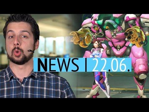 Twitter-Streit zwischen Sonic & Mighty No. 9 - Goldene Waffen für Overwatch-Spieler - News