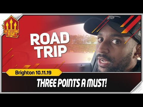 Manchester United vs Brighton Road Trip