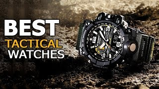 Best Tactical Watches - Top 5 Military Watches For Tactical & Outdoors
