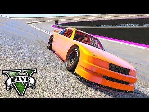 GTA V Online: NOVA CORRIDA com o CARRO NASCAR!!! (CIRCUITO)