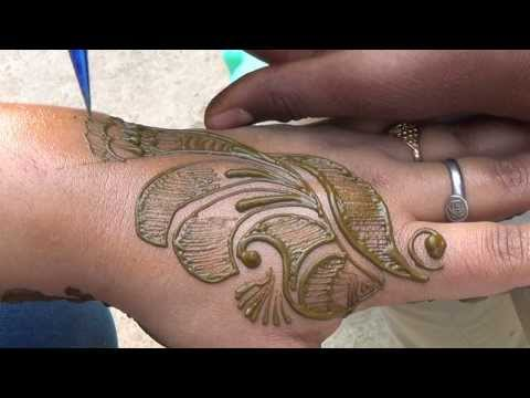Best Mehendi Design Ever:Traditional Mehndi Application/How To Draw