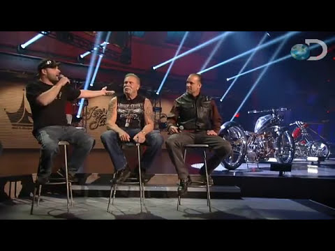 Jesse Challenges Junior | American Chopper Build-Off