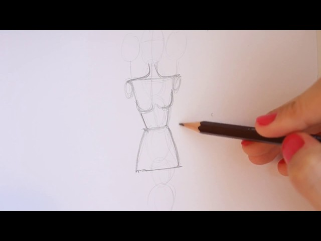 TUTORIAL - Fashion Figure Step by Step thumbnail