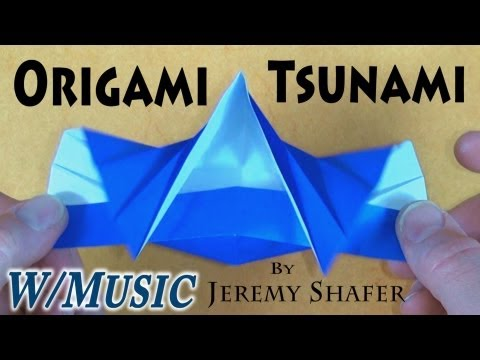 Origami Tsunami by Jeremy Shafer (with music)