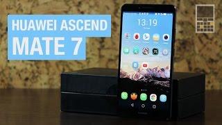 Huawei Mate 7 - Обзор смартфона с 8-и ядерным процессором и камерой 13 Мп