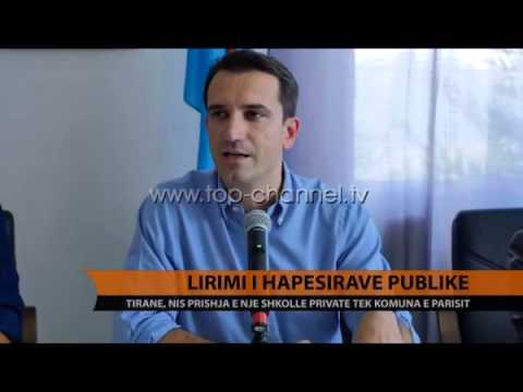 Lirimi i hapësirave publike - Top Channel Albania - News - Lajme