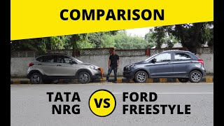 TATA TIAGO NRG vs Ford Freestyle - Best Comparison review| Petro Head india