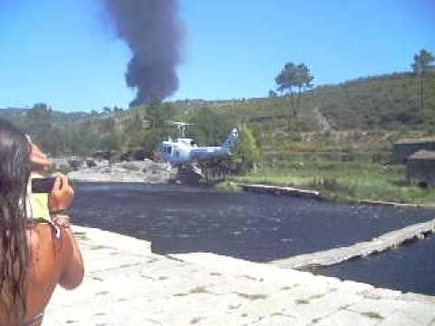 H�licopt�re a Vila Cova