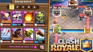 LOG BAITS!! | Clash Royale | Rubinho vlc