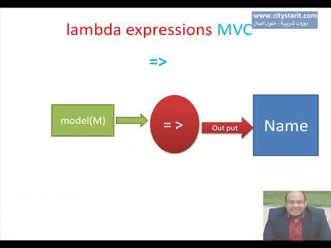 MVC Arabic | Lambda Expressions C# تطبيق رموز